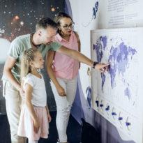 Žemės ir kosmoso pažinimo erdvė